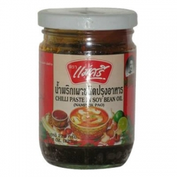 Maesri Chilli paste in Soy bean Oils 225g