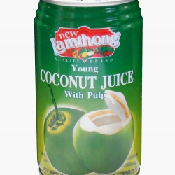 Lamthong Coconut Juice with Pulp 330ml