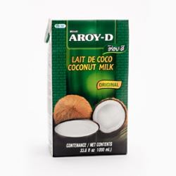 Aroyd Coconut Milk Tetra Pack 1lt