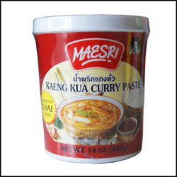 Maesri Curry Paste Kaeng Kua 400g