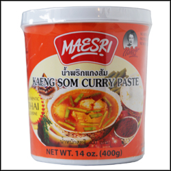 Maesri Curry Paste Kaeng Som 400g